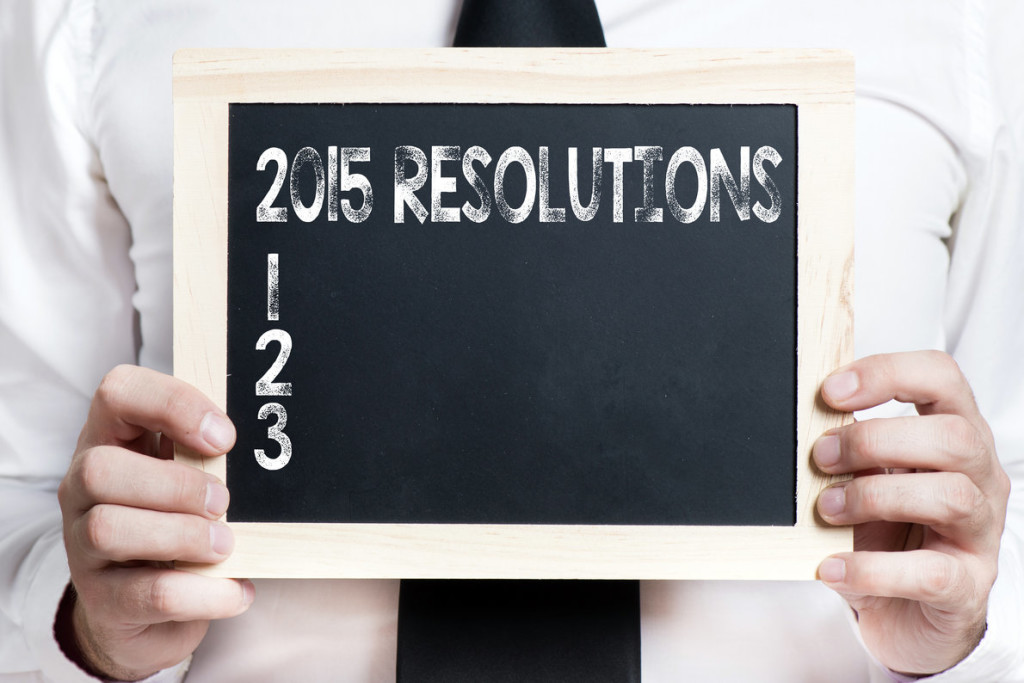 No More Resolutions, My 2 Words For 2015