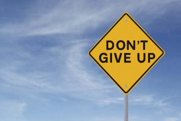 3 Simple Steps to Avoid Giving Up